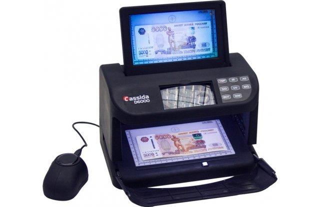 Детектор валют Cassida D6000