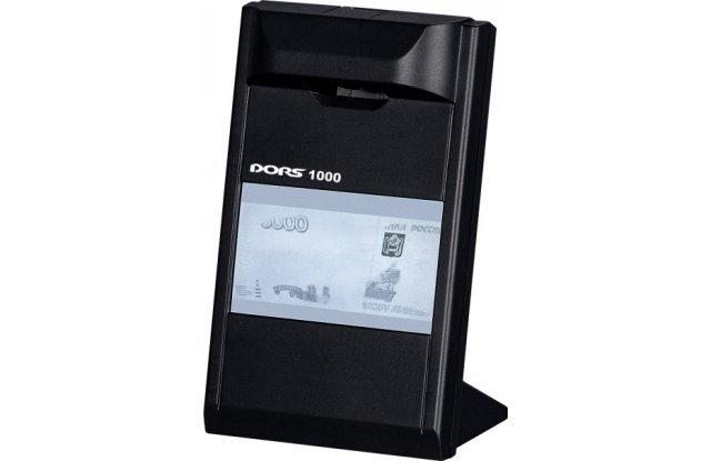 Детектор валют DORS 1000 М3 черный