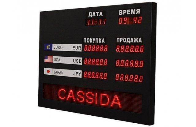 Табло курсов валют Cassida R-3L