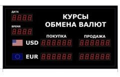 Табло курсов валют DoCash R1 602-04 DT-CR