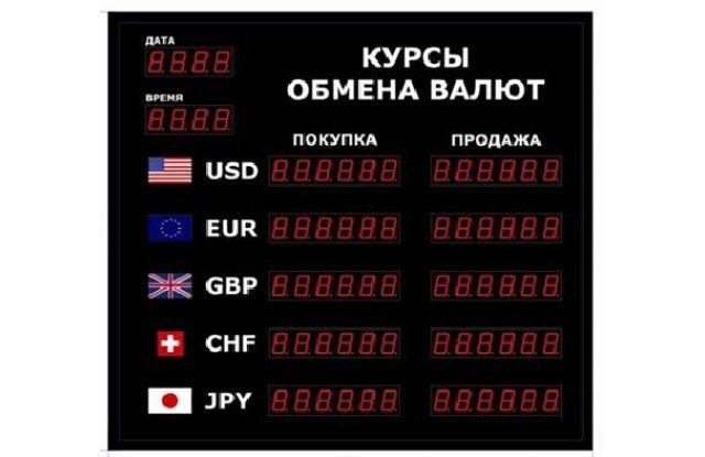 Табло курсов валют DoCash R1 602-06 DT-CR