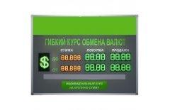 Табло курсов валют Kobell TEN 6-60x2 двухстороннее