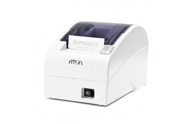 Кассовый аппарат АТОЛ FPrint-22ПТК USB/RS-232/Ethernet/Без ФН/Белый