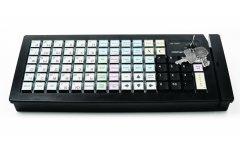 POS-клавиатура Posiflex KB-6600UB-M3 USB/черная c ридером магнитных карт