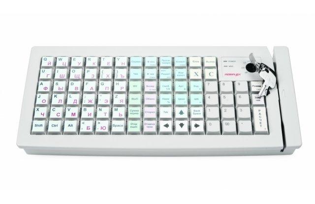 POS-клавиатура Posiflex KB-6600 KB/белая