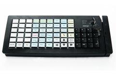 POS-клавиатура Posiflex KB-6800U-B-M3 USB/черная c ридером магнитных карт
