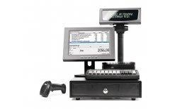 POS-система АТОЛ Супермаркет ЕГАИС 10 с фискальным регистратором Атол 55Ф