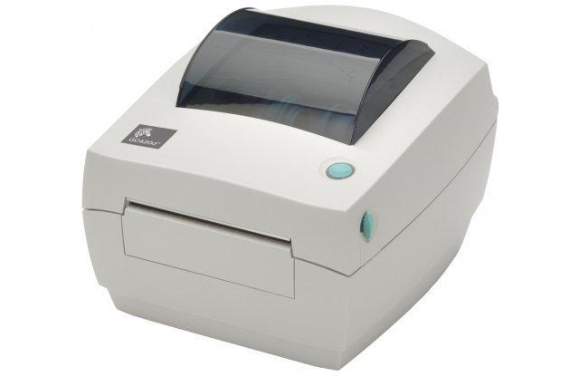 Принтер этикеток Zebra GC420d отделитель этикеток в комплекте