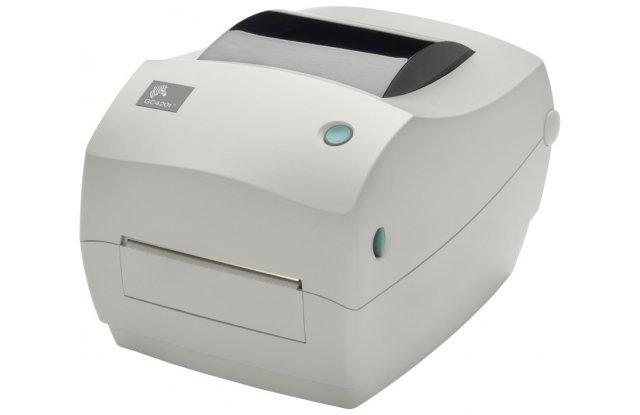 Принтер этикеток Zebra GC420t отделитель этикеток в комплекте