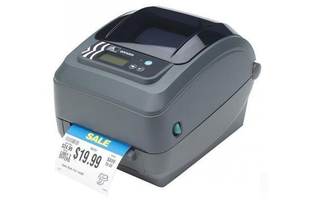 Принтер этикеток Zebra GX420t Ethernet