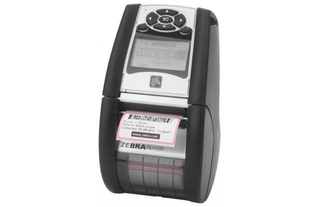 Мобильный принтер этикеток Zebra QLn 220, Bluetooth