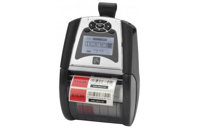 Мобильный принтер этикеток Zebra QLn 320, Wi-Fi