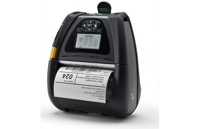 "Мобильный принтер этикеток Zebra QLn 420, Ethernet, Bluetooth, Linerless Platen 1,375"""