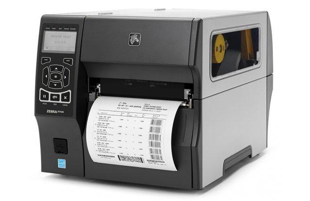 Принтер этикеток Zebra ZT-420, 203dpi, внутренний смотчик этикеток
