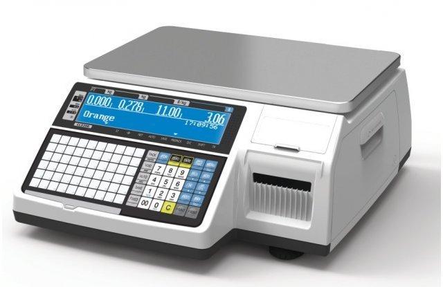 Весы с печатью этикеток CAS CL-3000-15B