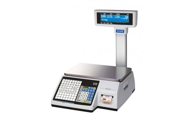 Весы с печатью этикеток CAS CL-3000-30P