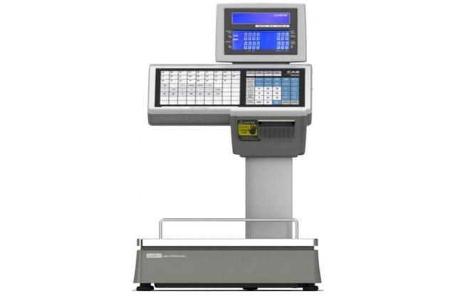 Весы с печатью этикеток CAS CL-5000-15D