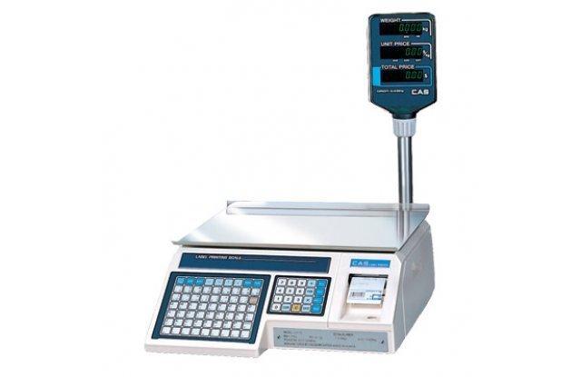 Весы с печатью этикеток CAS LP-30R ver 1.6