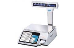 Весы с печатью этикеток CAS CL-5000J-30IP