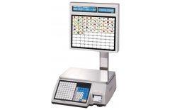 Весы с печатью этикеток CAS CL-5000J-15IS