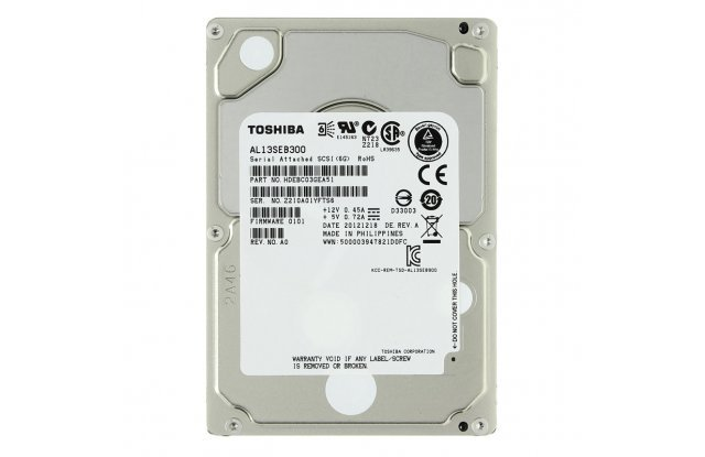 Жесткий диск Toshiba  SAS 300Gb