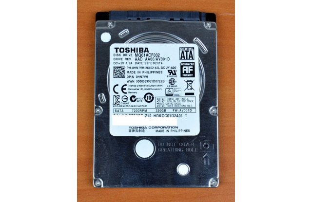 Жесткий диск Toshiba SATA3 320Gb