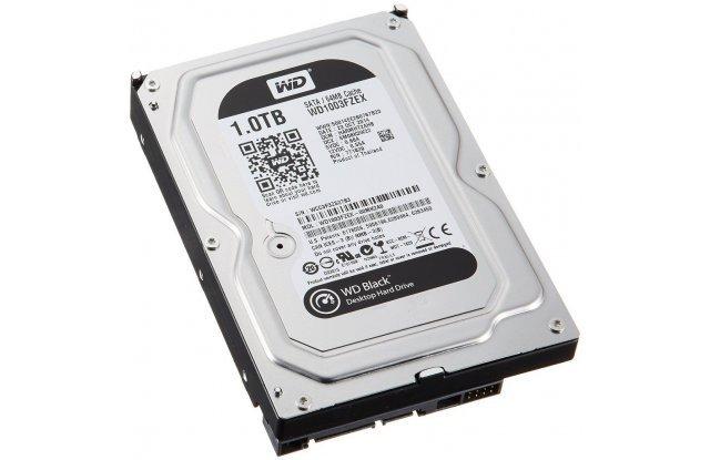 Жесткий диск WD Black 1 ТБ WD1003FZEX