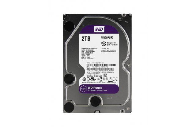 Жесткий диск WD Purple 2 ТБ WD20PURZ