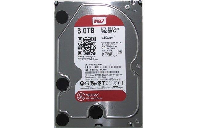 Жесткий диск WD Red 3 ТБ WD30EFRX