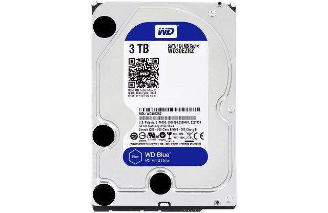 Жесткий диск WD Blue WD30EZRZ 3 ТБ