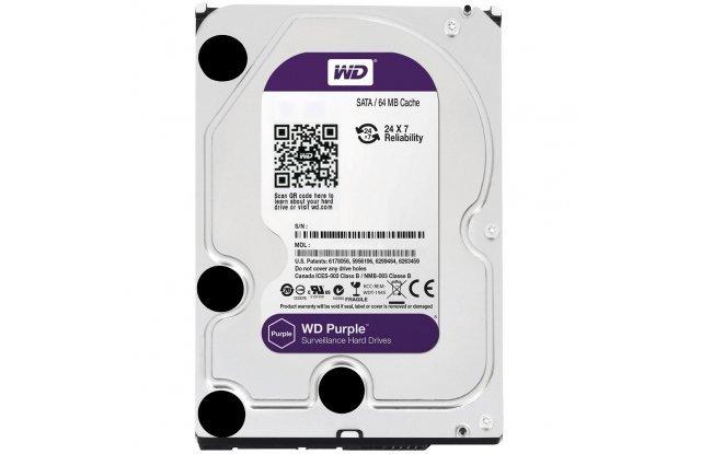 Жесткий диск WD Purple 3 ТБ WD30PURZ