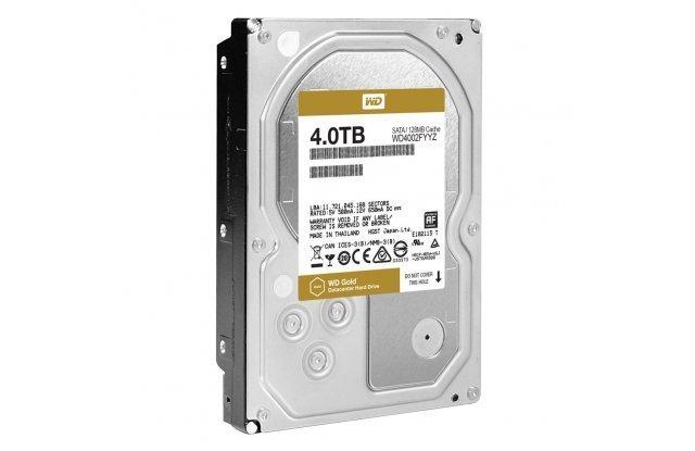 Жесткий диск WD Gold 4 ТБ WD4002FYYZ