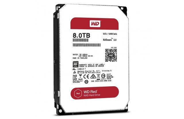 Жесткий диск WD Red 8 ТБ WD80EFZX