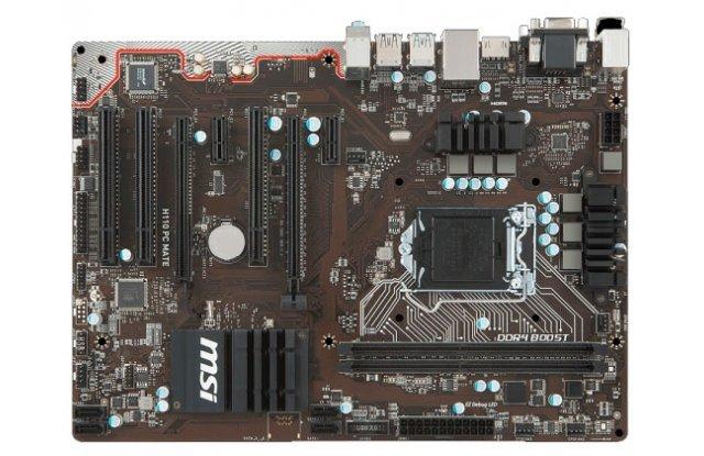 Материнская плата MSI H110 PC MATE
