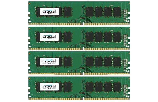 Оперативная память DDR4 16Гб Crucial CT4K4G4DFS8213