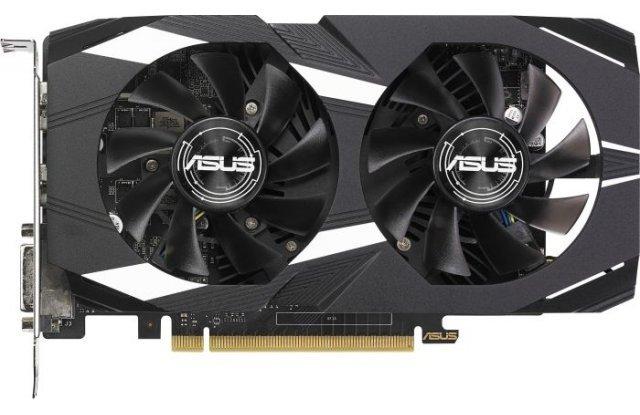 Видеокарта ASUS GeForce GTX 1050 DUAL OC, DUAL-GTX1050-O2G-V2