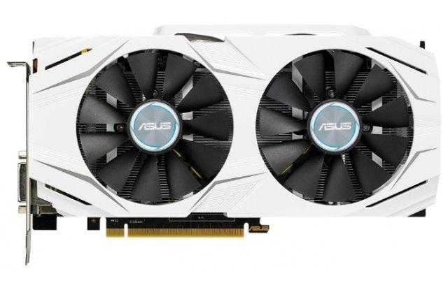 Видеокарта ASUS GeForce GTX 1060 DUAL OC 1569Mhz PCI-E 3.0 3072Mb 8008Mhz 192 bit DVI 2xHDMI HDCP