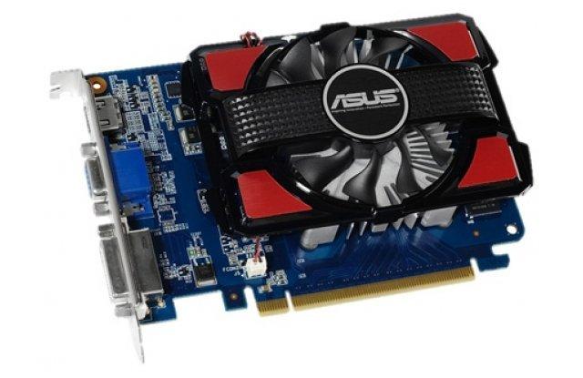 Видеокарта ASUS GeForce GT 730 700Mhz PCI-E 2.0 4096Mb 1100Mhz 128 bit DVI HDMI HDCP