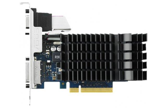 Видеокарта ASUS GeForce GT 730 902Mhz PCI-E 2.0 1024Mb 1800Mhz 64 bit DVI HDMI HDCP