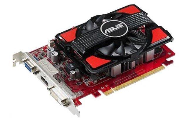 ASUS Radeon R7 250 725Mhz PCI-E 3.0 1024Mb 1125Mhz 128 bit DVI HDMI