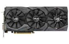 Видеокарта ASUS GeForce GTX 1080, ROG-STRIX-GTX1080-O8G-11GBPS