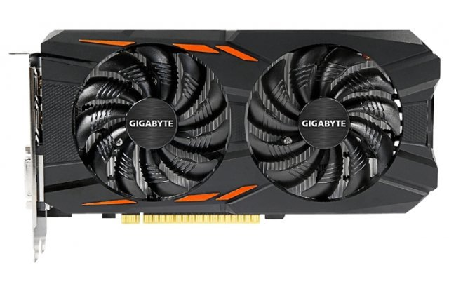 Видеокарта GIGABYTE GeForce GTX 1050 Ti 1328Mhz PCI-E 3.0 4096Mb 7008Mhz 128 bit DVI 3xHDMI HDCP Windforce OC