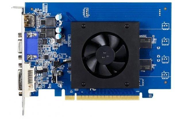 Видеокарта GIGABYTE GeForce GT 710, GV-N710D5-1GI, 1Гб, GDDR5, Low Profile, Ret