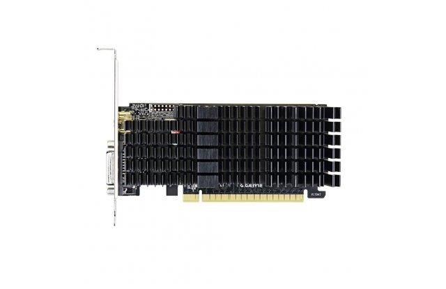 Видеокарта GIGABYTE nVidia GeForce GT 710, GV-N710D5SL-2GL, 2Гб, GDDR5, Low Profile, Ret