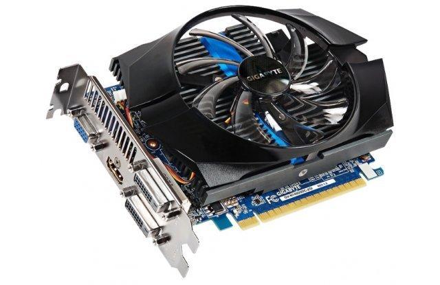 Видеокарта GIGABYTE GeForce GT 740 1072Mhz PCI-E 3.0 2048Mb 5000Mhz 128 bit 2xDVI HDMI HDCP