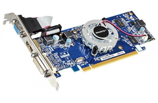 Видеокарта GIGABYTE Radeon R5 230 625Mhz PCI-E 2.1 1024Mb 1066Mhz 64 bit DVI HDMI HDCP