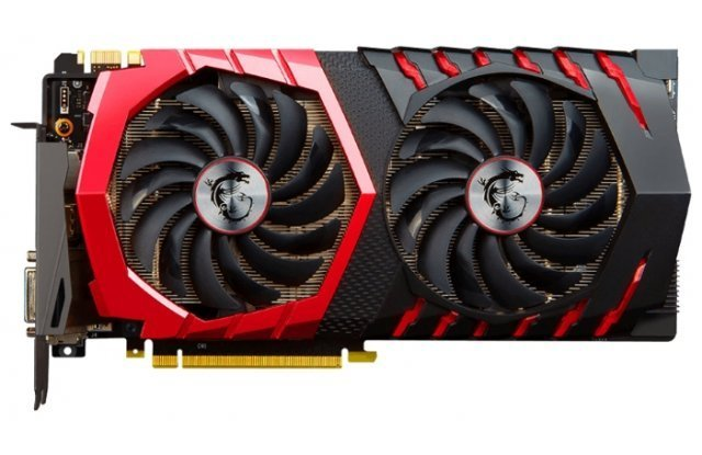 Видеокарта MSI GeForce GTX 1080 1607Mhz PCI-E 3.0 8192Mb 10108Mhz 256 bit DVI HDMI HDCP Gaming X