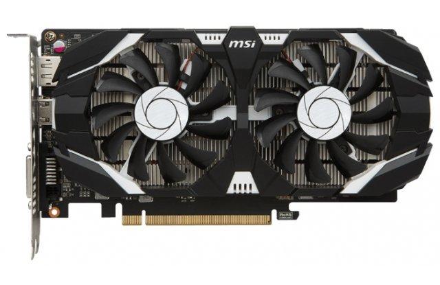 Видеокарта MSI GeForce GTX 1050 Ti OC 1341Mhz PCI-E 3.0 4096Mb 7008Mhz 128 bit DVI HDMI HDCP OC Dual Fans