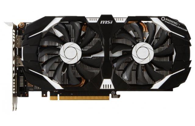Видеокарта MSI GeForce GTX 1060 OC 1544Mhz PCI-E 3.0 3072Mb 8008Mhz 192 bit DVI HDMI HDCP