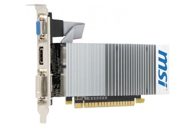 Видеокарта MSI GeForce 210 589Mhz PCI-E 2.0 512Mb 1000Mhz 64 bit DVI HDMI HDCP TurboCache